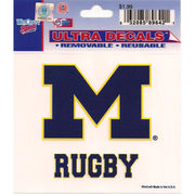 Wincraft Michigan Wolverines Rugby Decal- 3 x 3.75