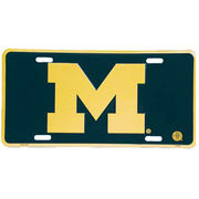 University of Michigan Block M License Plate