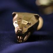 MaraWatch University of Michigan Antique Brass Wolverine Cufflinks