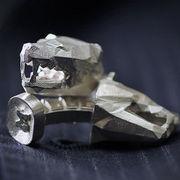 MaraWatch University of Michigan Unpolished Silver Wolverine Cufflinks