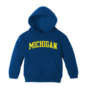 University of Michigan Infant Navy Pullover Hooded Sweatshirt
