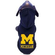 All Star Dogs University of Michigan Pet Polar Fleece Hooded Sweatshirt