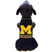 All Star Dogs University of Michigan Pet Cheerleader Dress