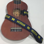 Spirit Straps University of Michigan Ukelele Instrument Strap