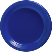 Amscan University of Michigan Plain Navy 20ct 7'' Plastic Party Plate