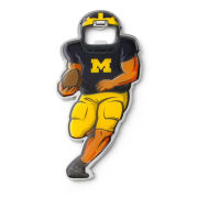 Aminco University of Michigan Football Player Magnetic Bottle Opener