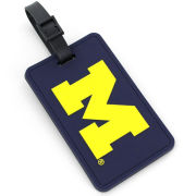 Aminco University of Michigan Navy Soft Luggage Tag