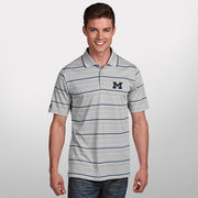 Antigua University of Michigan Limestone Gravity Polo Shirt