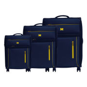 Alumni Travel Gear University of Michigan 3-Piece Travel Luggage Set