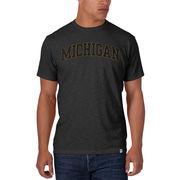 '47 Brand University of Michigan Charcoal Gray Scrum Tee