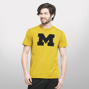 '47 Brand University of Michigan Gold Forward High Point Performance Tee
