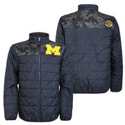 686 x '47 Brand University of Michigan Flight Insulated Full Zip Jacket