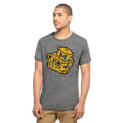 '47 Brand University of Michigan Gray Triblend Vault Wolverine Scrum Tee