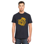 '47 Brand University of Michigan Navy College Vault Wolverine Scrum Tee