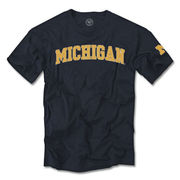 '47 Brand University of Michigan Navy Fieldhouse Tee