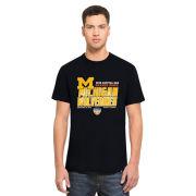 '47 Brand University of Michigan Football Orange Bowl Navy Scrum Tee