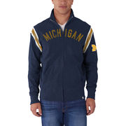 '47 Brand University of Michigan Navy Track Jacket
