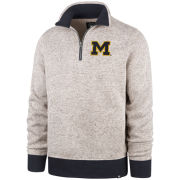 '47 Brand University of Michigan Kodiak 1/4 Zip Pullover