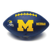 GameMaster University of Michigan Football Jr. Size Rubber Football