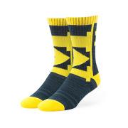 '47 Brand University of Michigan Hot Box Crew Socks