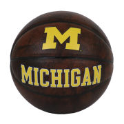 Baden University of Michigan Vintage Mini Basketball