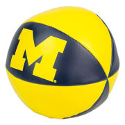 Baden University of Michigan Basketball Soft Touch Poly-Filled Basketball