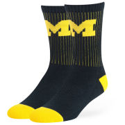 '47 Brand University of Michigan ''Strikethrough'' Crew Socks