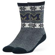 '47 Brand University of Michigan Navy ''Norse'' Crew Socks