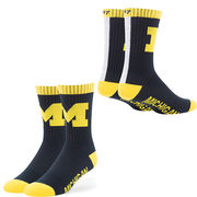 '47 Brand University of Michigan Bolt Team Socks