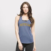 '47 Brand University of Michigan Ladies Blue Forward Shift Performance Tank Top