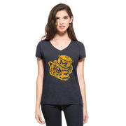 '47 Brand University of Michigan Women's Navy College Vault Wolverine Tee