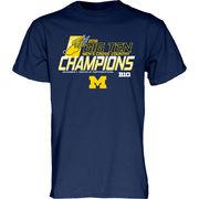Blue84 University of Michigan Men's Cross Country Big Ten Champions Tee