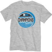 Blue84 University of Michigan Women's Swimming and Diving Big Ten Champions Gray Locker Room Tee