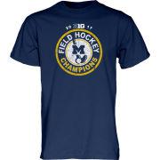 Blue84 University of Michigan Field Hockey Big Ten Regular Season Champions Navy Tee