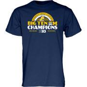 Blue84 University of Michigan Women's Cross Country Big Ten Champions Tee