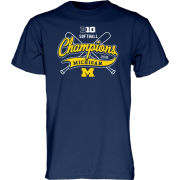 Blue84 University of Michigan Softball Big Ten Regular Season Champion Tee