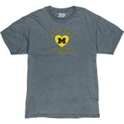 Life Is Good University of Michigan ''In This Together'' Heather Navy Tee