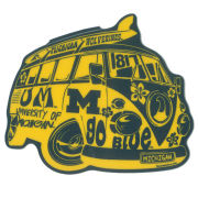 Blue84 University of Michigan Flower Power Bus Sticker