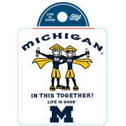 Life Is Good University of Michigan Class of 2020 ''In This Together'' Decal