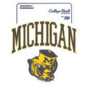 Blue84 University of Michigan Jump Line College Vault Wolverine Sticker