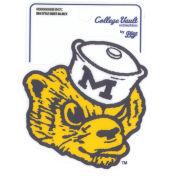 Blue84 University of Michigan Style Sheet College Vault Wolverine Sticker
