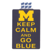 Blue84 University of Michigan ''Keep Calm and Go Blue'' Sticker