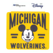 Blue84 University of Michigan x Disney ''Between The Lines'' Mickey Mouse Sticker