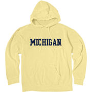 Blue84 University of Michigan Women's Washed Butter Hooded Sweatshirt