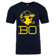 Bo Schembechler Brand Official Merchandise Navy ''Bo Headset'' Tee