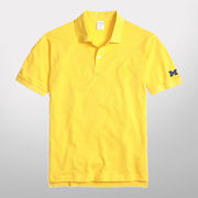 Brooks Brothers University of Michigan Yellow Slim Fit Polo
