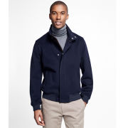 Brooks Brothers Navy BrooksStorm Bomber Jacket