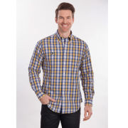 Brooks Brothers University of Michigan Stewart Check Sport Shirt
