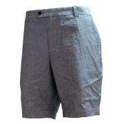 Brooks Brothers Navy Chambray Flat Front 9'' Shorts