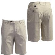 Brooks Brothers University of Michigan Oatmeal Garment Dyed Bermuda Shorts
